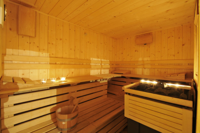 Apartments with sauna